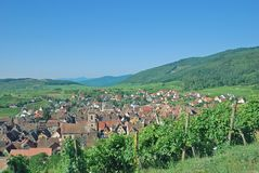 Riquewihr, Alsácia, França Foto de Stock Royalty Free