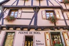 Riquewihr, Alsace, France - Shops with souvenirs Stock Photography
