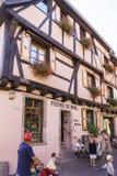 Riquewihr, Alsace, France - Shops with souvenirs Stock Photos
