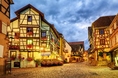 Riquewihr, Alsace, France Royalty Free Stock Images
