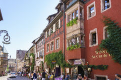 Riquewihr, Alsace, France Royalty Free Stock Photography