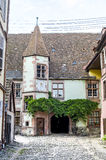 Riquewihr (Alsace) - Old house Royalty Free Stock Photo
