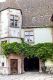 Riquewihr (Alsace) - Old house Stock Photography