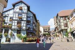 Riquewihr, Alsacia, Francia foto de archivo