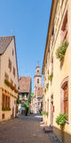 Riquewihr. City view of Riquewihr, a town in Alsace, France Royalty Free Stock Image