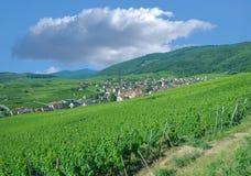 Riquewihr, Est magnífico, AlsaceFrance anterior Imagenes de archivo