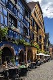Riquewihr - Est magnífico - Francia Imágenes de archivo libres de regalías