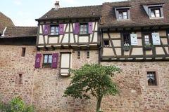 Riquewihr Francia fotografia stock
