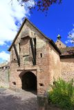 Riquewihr Porte Haute Stock Photography