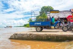 Riquexó perto de Iquitos, Peru imagem de stock royalty free