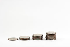 Riqueza crescente do dinheiro Fotografia de Stock Royalty Free
