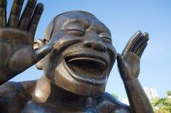 rire d'Un-labyrinthe-ing Image libre de droits