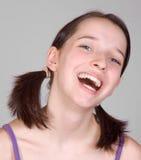 rire de fille Photos libres de droits