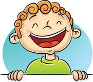 Rire de garçon illustration libre de droits