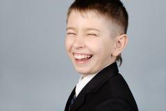 rire de garçon Photos libres de droits