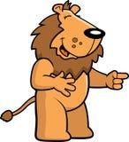 Rire de lion Photos stock