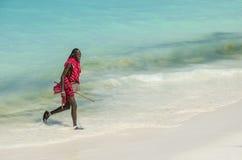 Rire de Massai Images stock