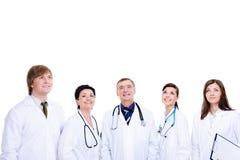 rire des médecins cinq réussi Photo stock