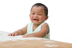 Rire heureux. Photo libre de droits