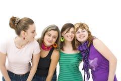 Rire heureux d'amies Photos libres de droits