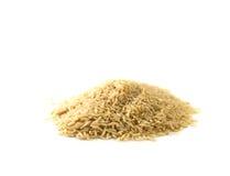 Ris i den vita koppen arkivfoto