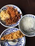 Ris i risvattenuppsättningen Fotografering för Bildbyråer