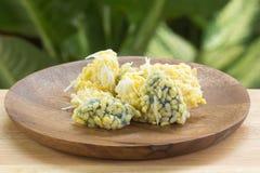 Ris-kräpp för Mung böna arkivfoton