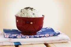 Ris som japansk nationell mat royaltyfri foto