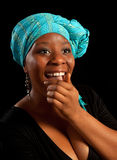 Risa africana Foto de archivo libre de regalías