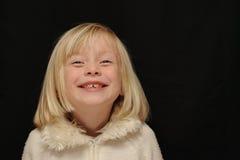 Risa de la chica joven Fotografía de archivo libre de regalías