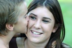 Risa de la muchacha Foto de archivo libre de regalías