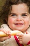 Risa de la muchacha   Fotos de archivo libres de regalías