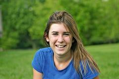 Risa de la muchacha Foto de archivo