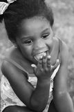 Risa de la muchacha fotos de archivo