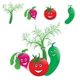 Risa de las verduras Fotografía de archivo libre de regalías