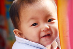 Risa del bebé Foto de archivo libre de regalías