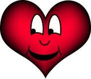 Risa del corazón ilustración del vector