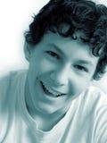 Risa del muchacho Imagen de archivo
