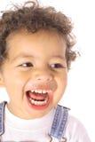 Risa del niño Fotos de archivo
