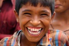 Risa grande Foto de archivo libre de regalías