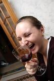 Risa infecciosa Foto de archivo libre de regalías