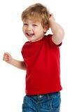 Risa linda del muchacho Fotos de archivo libres de regalías