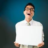 Risa ruidosa foto de archivo libre de regalías