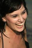 Risata bella Fotografia Stock Libera da Diritti