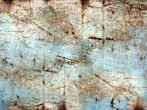 Riscado e oxidado Fotografia de Stock Royalty Free