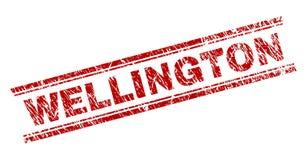 Riscado Textured WELLINGTON Stamp Seal ilustração royalty free