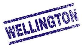 Riscado Textured WELLINGTON Stamp Seal ilustração do vetor