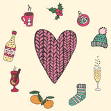 Riscalda il cuore Fotografie Stock