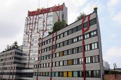 Riscaldamento centrale di un quartiere Vienna Immagini Stock Libere da Diritti