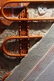 Riscaldamento della parete Fotografia Stock